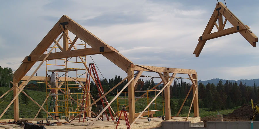 Brewster Timber Frames - Colorado