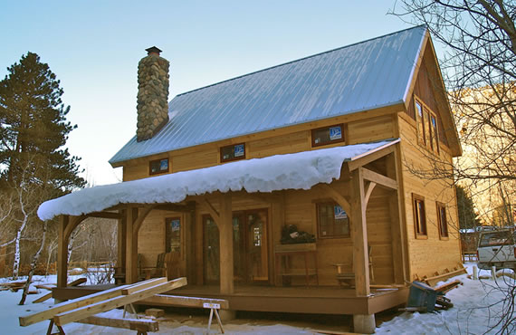 Brewster Timber Frame Colorado Custom Timber Frame Builder