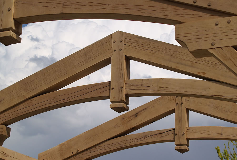 timber frame outdoor kitchen brewster timber frame company